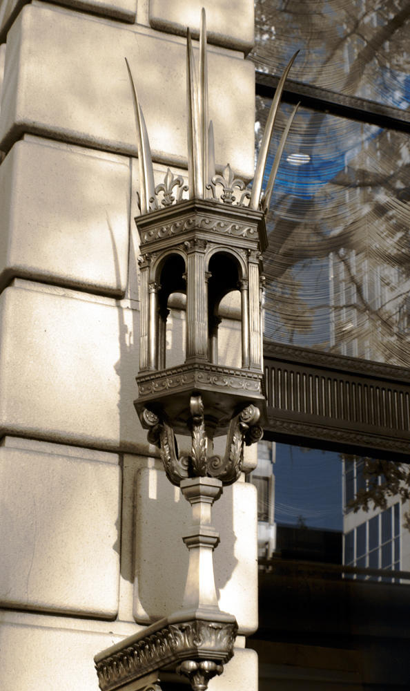 An Ornate Sconce